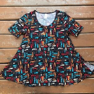 3/$30 LulaRoe Perfect Tee - Size XS (4-10)